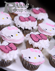 (Rahf's cake) Tags: hello cupcakes kitty cupcake  rahaf   rahafs
