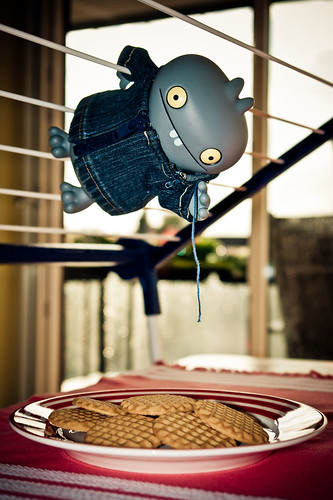 Uglyworld #1145 - Cookie Snafflings (Project BIG - Image 167-365) by www.bazpics.com
