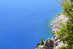 Water At Crater Lake OR