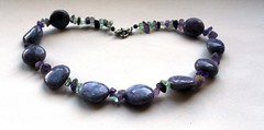 Necklace - labradorite imitation 1
