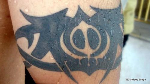 A Khanda - A Tattoo