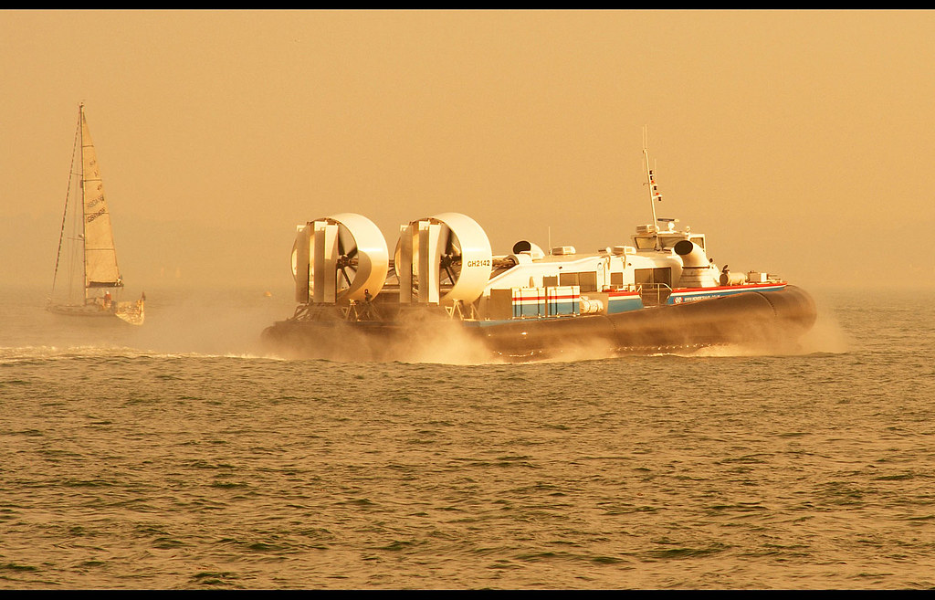 Hovercraft at Southsea