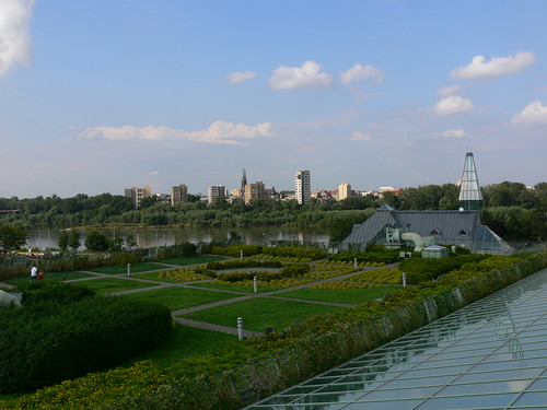 Warsaw University Library Gardens