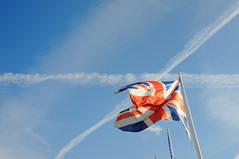 Union Jack - crosses in the sky (DCox Photox) Tags: nikon peace normandy dday caen d300 caenmemorial