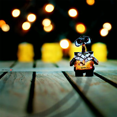 Happy Tuesday, Feliz Martes!! ;) FP!!! (Dr Cullen) Tags: nikon bokeh disney pixar walle 35mmf18 d80 flickraward