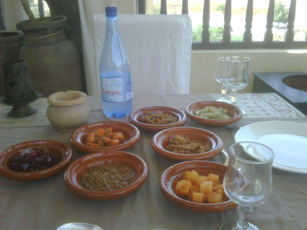 A dinner in morocco