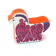 Carlton ware horse moneybox (Wooden donkey) Tags: horse vintage ceramic coin bank 1960s porcelain midcentury carltonware