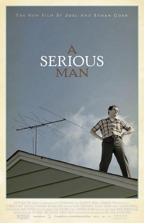 Poster serious man