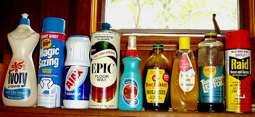 vintage household products