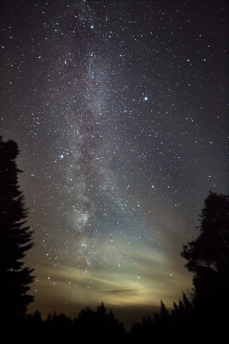 Milky Way and the Zodiacal Light