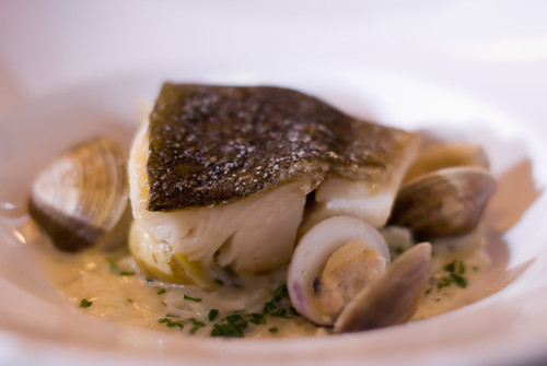 Sablefish in Chowda Sauce with Clams
