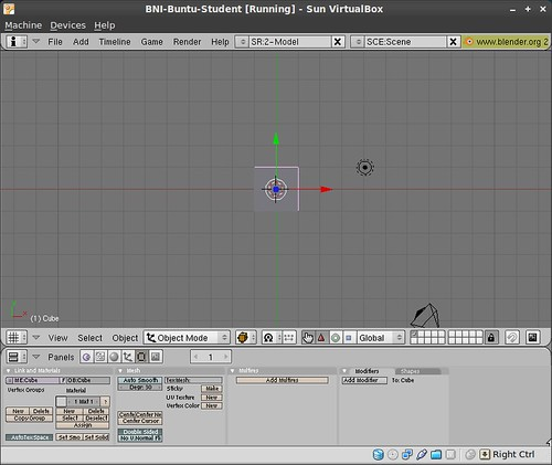 Blender in BNI-Ubuntu