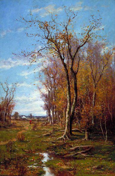 Du Bois Fenelon Hasbrouck, Autumn Landscape