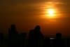 Paris - From Tour de Montparnasse (bibendum84) Tags: sunset sun paris silhouette skyscraper soleil tramonto torre ombre sole prada grattacielo montparnasse alessandro parigi tourdemontparnasse