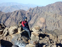 Paul made it to the top (4165 m) (Frans.Sellies) Tags: morocco maroc marokko toubkal jebeltoubkal    toubqal paulsellies