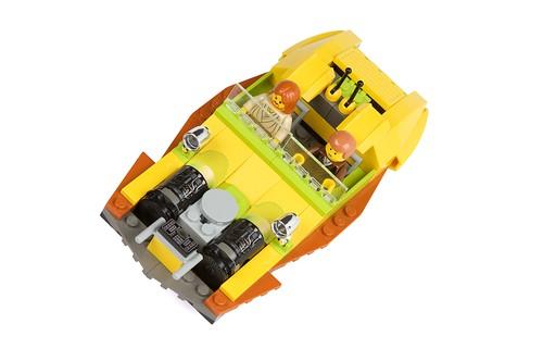 LEGO speeder from Star Wars