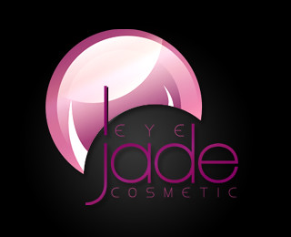 Jade Eye Cosmetics Logo Design