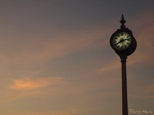 El reloj del Puerto