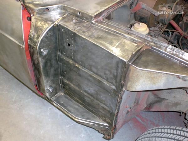 Mgb Gt Rust Repair Rusty Heaps