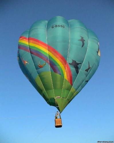 Полетай на воздушном шаре