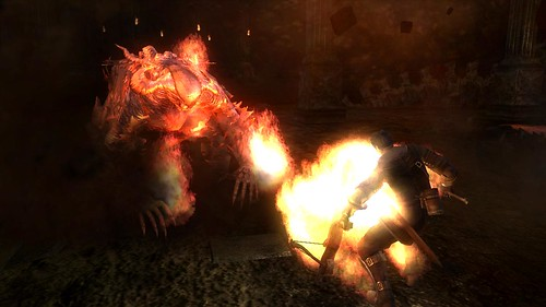 Demon's Souls burn baby burn