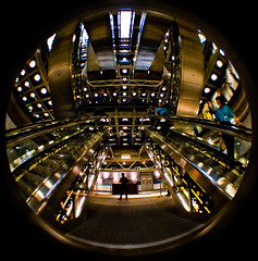 Justin Timberlake video at Lloyds of London (Scott Leach) Tags: house building london video open interior timberlake justine notreally lloyds finance imadethatup whoisjustintimberlakeanyway