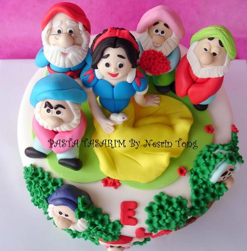 THE SNOW WHITE CAKES