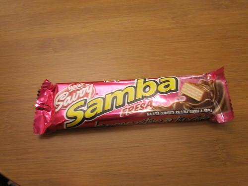 half of Jessica's Samba bar - free