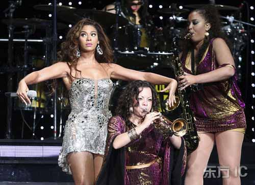 The Beyonc??? Experience Shanghai' Photos 2 - beautiful girls