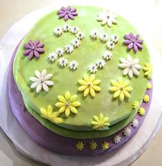 torta sara 27 (frago) Tags: verde green pasta lilac di daisy lilla zucchero margherite pdz