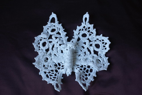 Irish Crochet butterfly