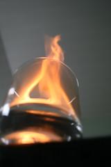 fire water (possessed2fisheye) Tags: orange hot glass fire flames flicker firewater possessed2sk8