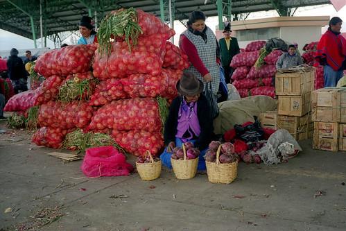 Mercado de Ambato, Ecuador
