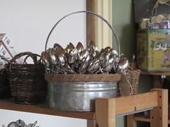 Spoons at the tea shop