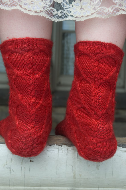 Vampire Boyfriend Socks