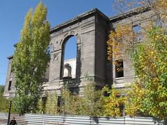Armenia-Gyumri, ruins