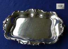 Monogramed HWA tray (henriettasilver) Tags: silver monogram tray sterling hwa holloware