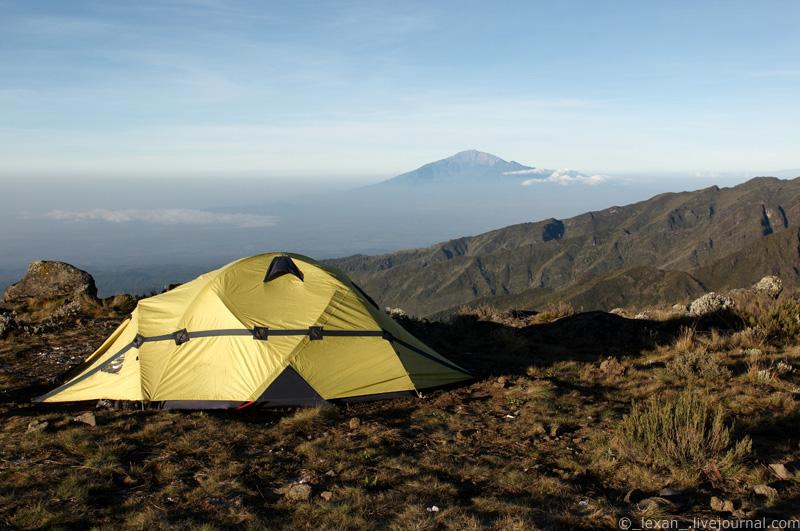 Shira basecamp on Kilimanjaro mount (3800m)