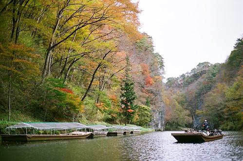 Geibikei (猊鼻渓)