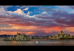 Mono Lake - USA (~ Floydian ~ ) Tags: california sunset usa sun lake beach nature clouds america canon landscape geotagged mono landscapes south lee colourful monolake tufa legacy meijer henk vining leevining floydian proframe proframephotography southtufabeach alemdagqualityonlyclub henkmeijer geo:lat=37941828 geo:lon=119035063