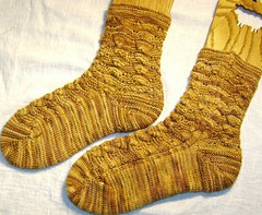 gold dust woman socks 009