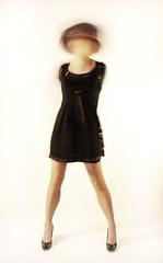 (beth alderson) Tags: motion black blur studio movement dress legs debbieliane