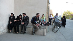 Random Iranian People and Tour members (Daniel Brennwald) Tags: people iran iranian kashan fingarden
