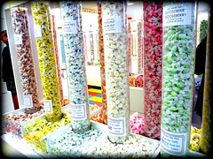 """""""Simply yum - didly umpchous"""" (Julia TortoiseHugger) Tags: colors oregon seaside yummy candy bright sweet or tubes sugar plastic clear sweets taffy gooseberry hazelnut flavors saltwatertaffy boarder candyman boost exaggerated thechallengegame challengegamewinner friendlychallenges theseasidecandyman"""