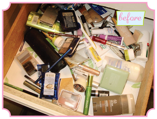 Make-up Drawer - before