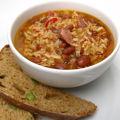 Red Beans & Rice Soup