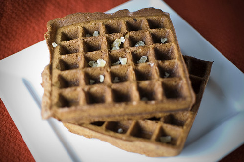 Gingerbread waffles