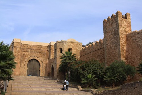 Rabat kasbah entrance...