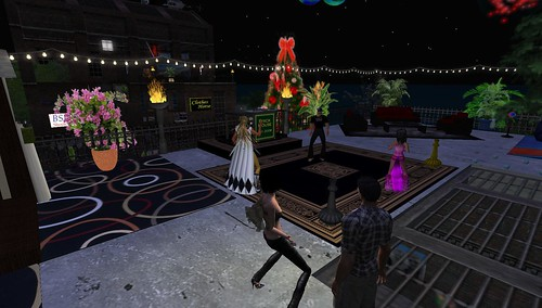 brick house party in second life