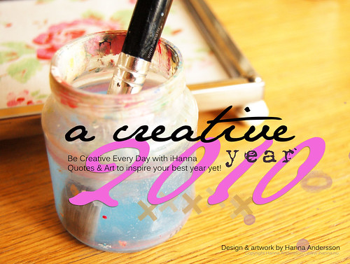 Published a Creative 2010 Calendar